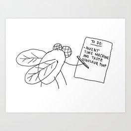 Dinosaur Poop Art Print