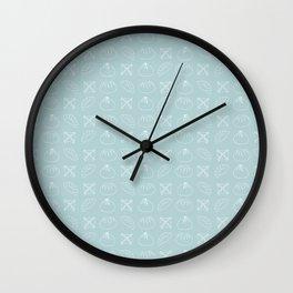 Darling Dumplings Wall Clock
