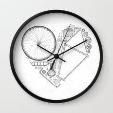 Love Bike (Grey) Wall Clock
