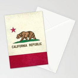 California Republic Flag Stationery Cards