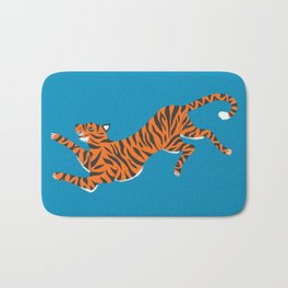 Blue Tiger Bath Mat