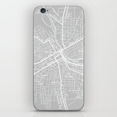 Vintage Nashville Gray iPhone & iPod Skin