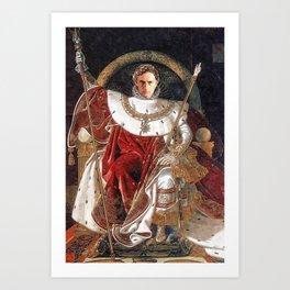 Emperor José Mourinho Art Print