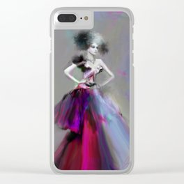 The Duchess Clear iPhone Case