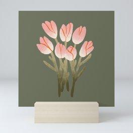 Tulip Drawing Mini Art Print