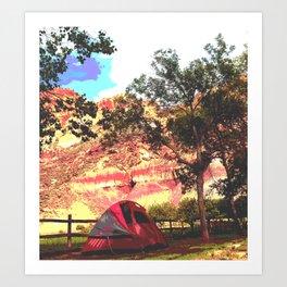 Campout Art Print