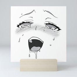 Ahegao II Mini Art Print