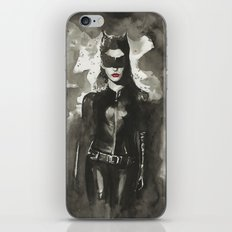 TDKR-catwoman iPhone & iPod Skin