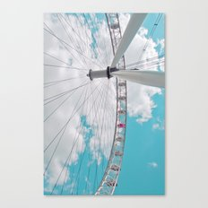 eye in the sky... Canvas Print