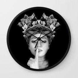 quiet Thoughts Wall Clock