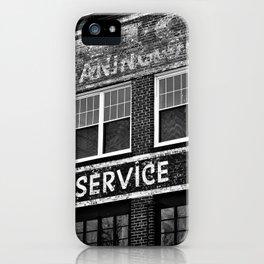 Curb Service iPhone Case