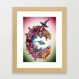 C - variation Framed Art Print