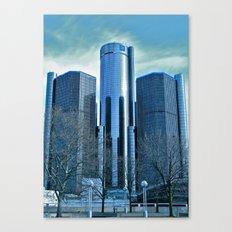 Detroit Renaissance Center (Ren Cen) GM Headquarters Canvas Print