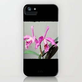 Cattleya iPhone Case