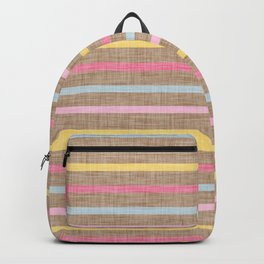 Vanilla Stripes Backpack