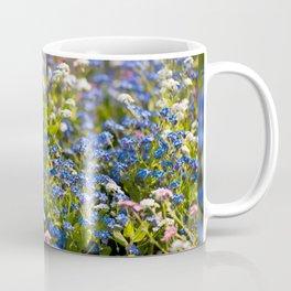 Myosotis flowering in spring Coffee Mug