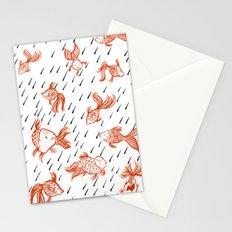 Rainy Fish Stationery Cards