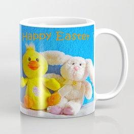 Happy Easter Chick + Bunny Coffee Mug
