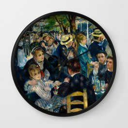 Renoir - Dance at Le Moulin de la Galette Wall Clock