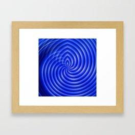 Stop spinning Framed Art Print