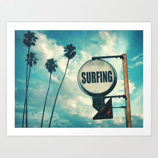 Surfing Sign by surfskate