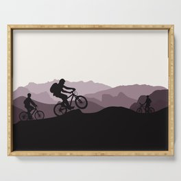 MTB Mountains Serving Tray