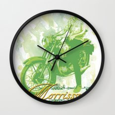 Morrissycle Wall Clock