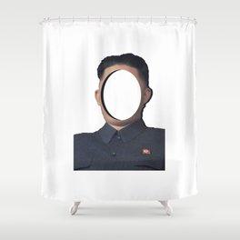 No-Face: Supreme Leader Kim Jong-un Shower Curtain