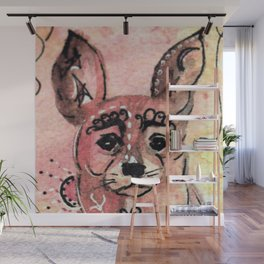 My Tattoo Dog Wall Mural