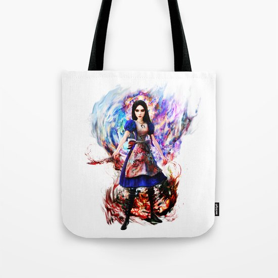 Alice madness returns Tote Bag