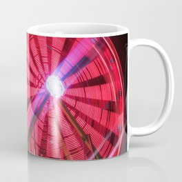 Spinning Your Wheels the ferris wheel carnival ride Coffee Mug