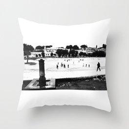 Rome_Circo Massimo Throw Pillow