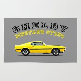 Shelby Mustang GT350 Rug