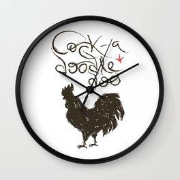 Cock-a-Doodle-Doo! Wall Clock