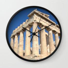 Parthenon (Square) Wall Clock