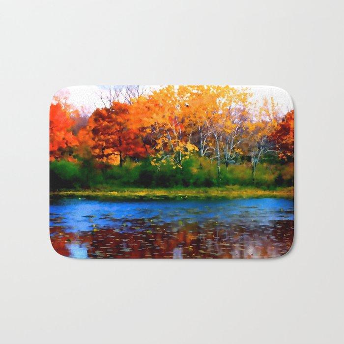 Remember Autumn Bath Mat