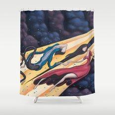 Gravity's Union Shower Curtain