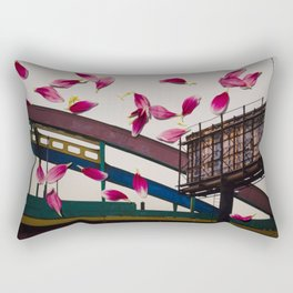 Urban Flowers 1 Rectangular Pillow