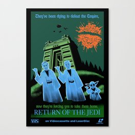 Return of the Jedi (Home Video Release) Canvas Print