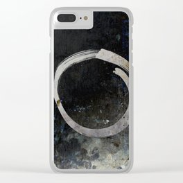 Enso #5 - Ghost Clear iPhone Case