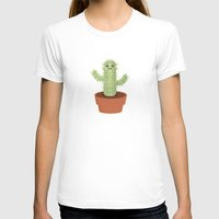 kawaii T-shirts featuring Kawaii Cactus by Nir P