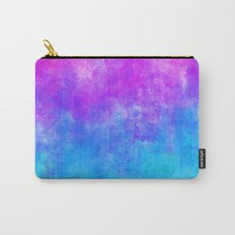 Neon Galaxy Watercolor Carry-All Pouch
