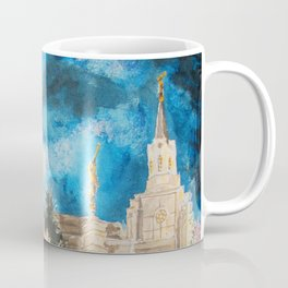 Zion's LDS Temples Painting Coffee Mug
