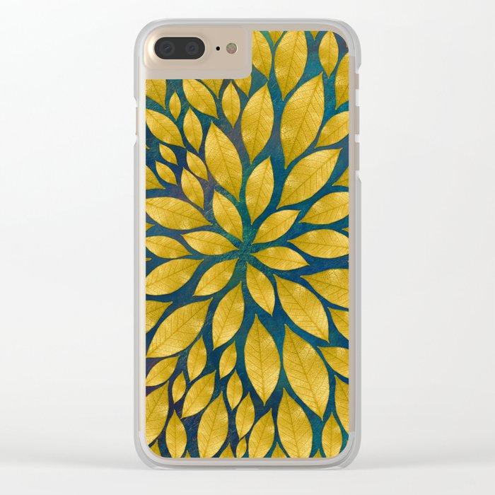 Petal Burst #18 Clear iPhone Case