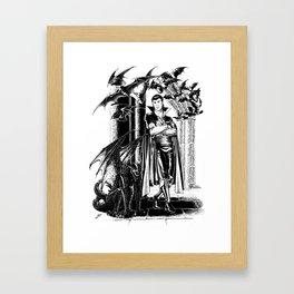 Vampire's lair Framed Art Print