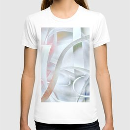 Paper colored pattern T-shirt