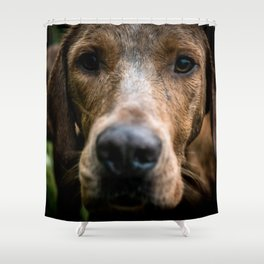 Fox Hound Shower Curtain