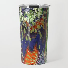 Induced Cosmic Revelations (Four Dreams, In Mutating Cycle) Travel Mug