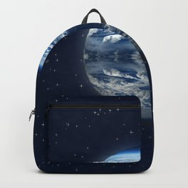blue planet Backpack