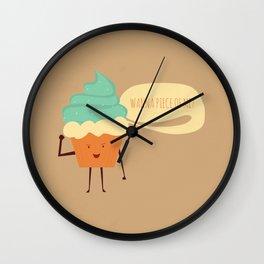 Wanna Piece of Me? Wall Clock